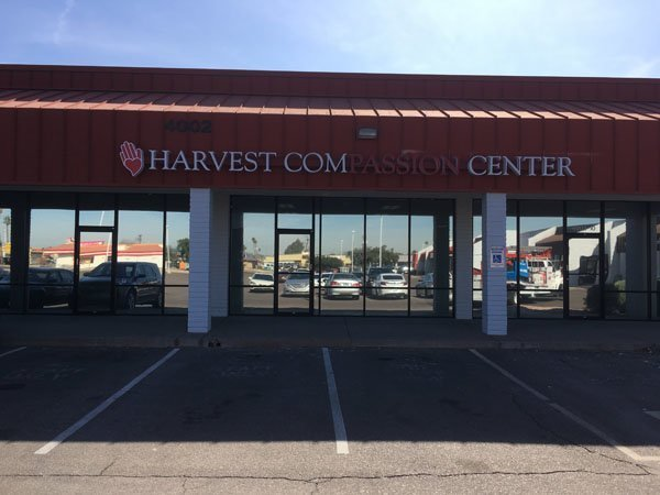 Building Sign For Harvest Compassion Center