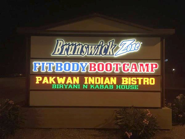 Monument Sign For Fitbody Bootcamp