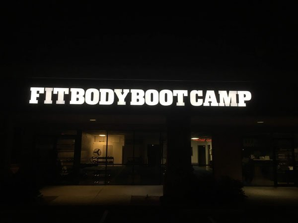 Neon Sign For Fit Body Boot Camp