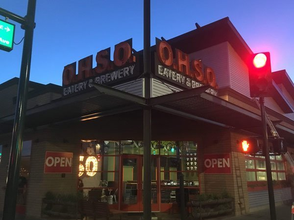 Outdoor Business Sign For OHSO Eatery