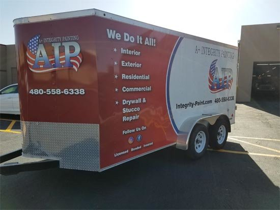 Commercial Trailer Wrap