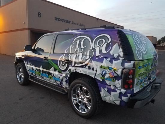 Vehicle Wraps Phoenix Installation