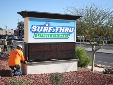 LED Outdoor Signs