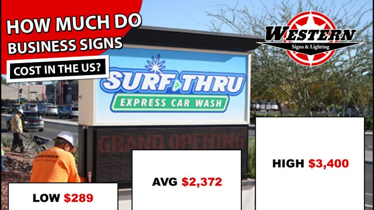 Business Signs Cost